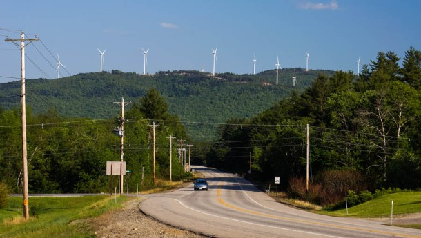 Iberdrola's Wind Turbines in Groton NH